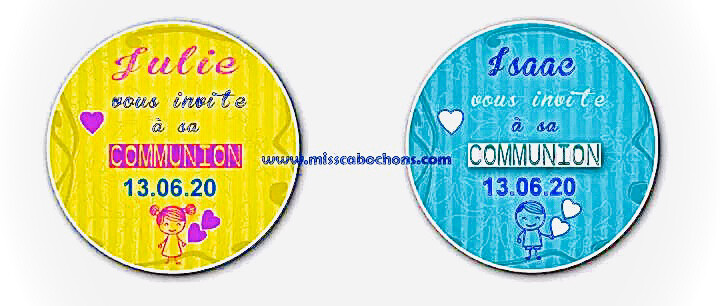 communion badge