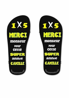 personalized teacher thongs