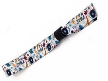 Bracelet tissu personnalisable