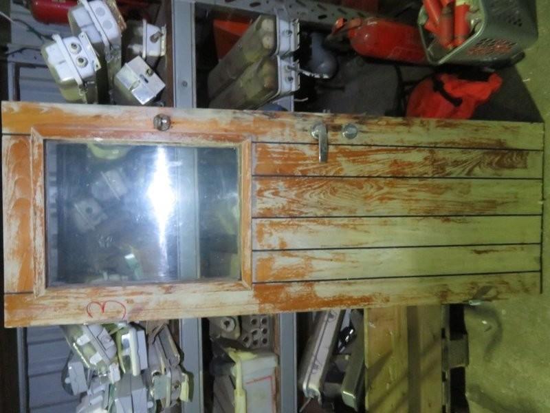 3. Dører Teak - 174x62 cm u/karm