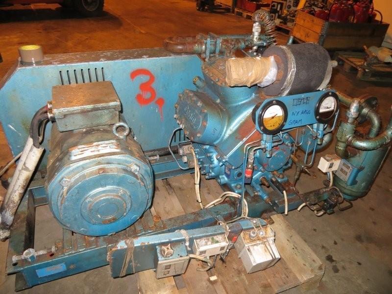 3. Frys/kjøle utstyr-kompresorer