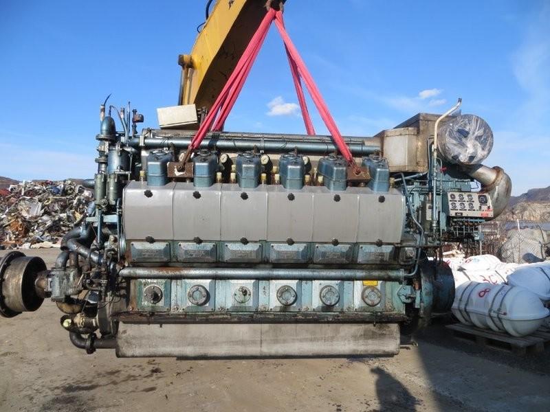 2. Hoved motorer - MAN B&W ALPHA  12V23/30-D
