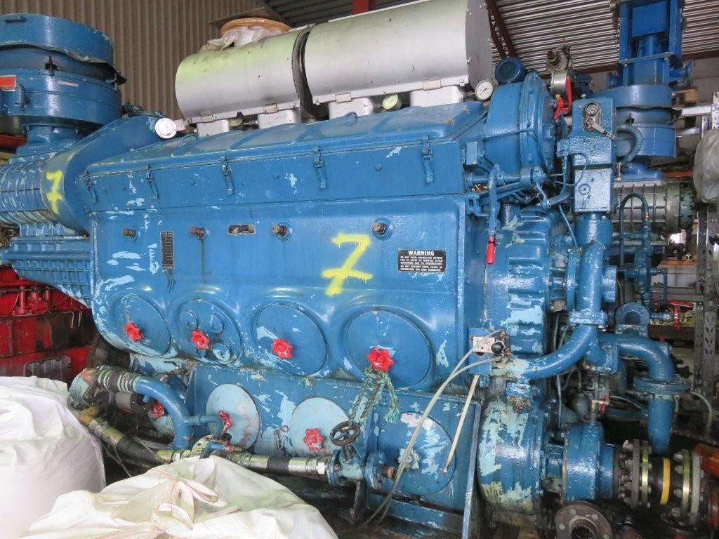 7. Hoved motorer -  Detroit GM Diesel 567-CR