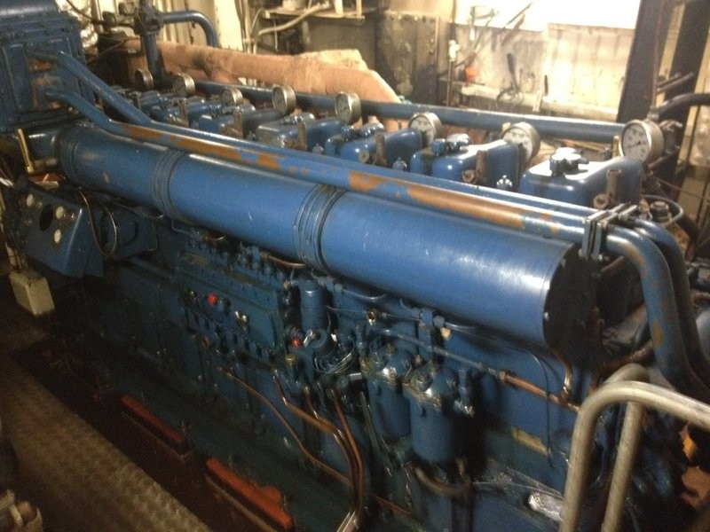 15. Hoved motorer - DEUTZ BA8M 528