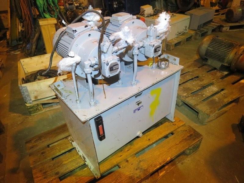 7. Hydraulik agregat - 2x 2,2kw 220-480v, tank  112lite