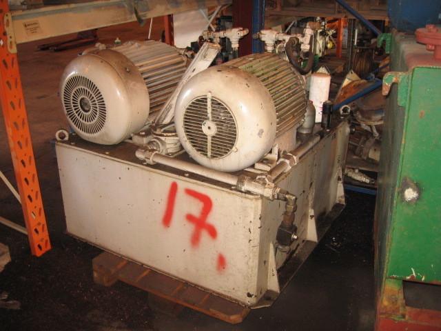 17. Hydraulik agregat - 30kw  220-380  80l/min