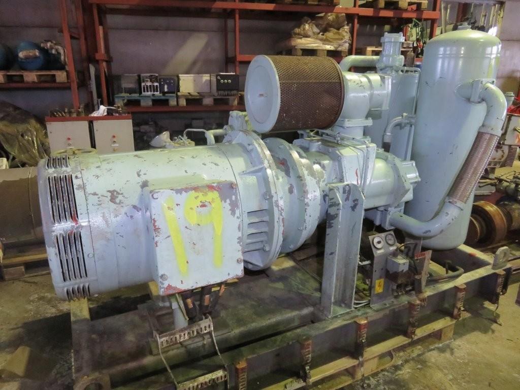 19. Luft kompressorer - Atlas Copco 120 kw