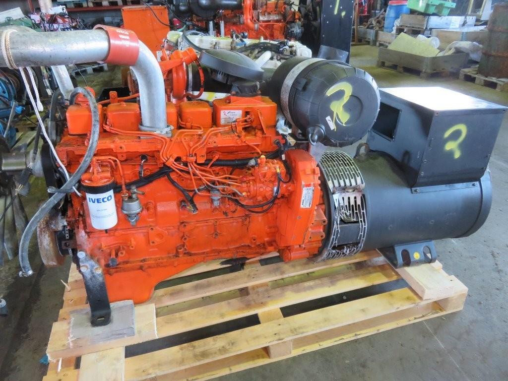 2. Motor og Generator sett - Iveco G4GE0685B
