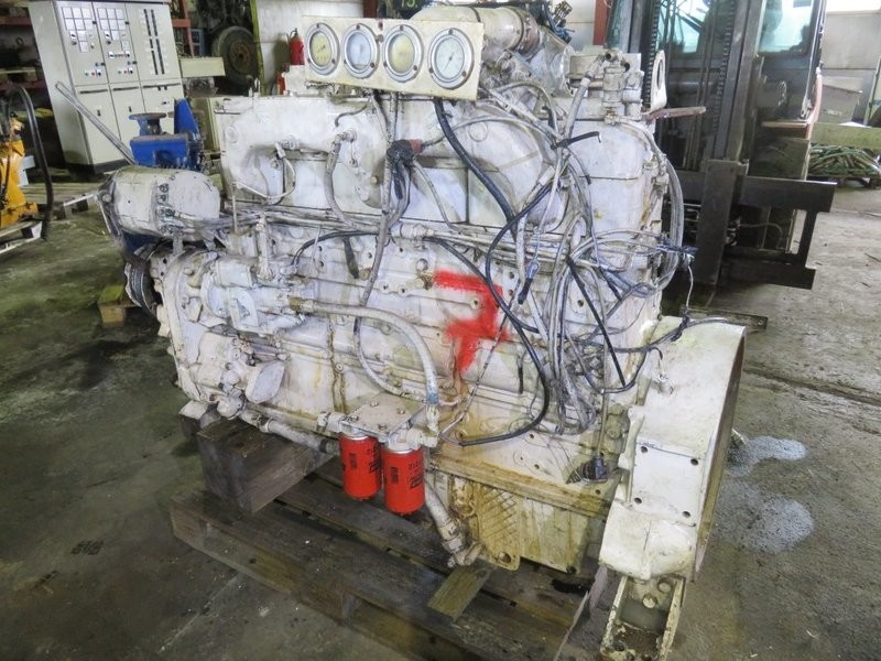 7. Motor og Generator sett - 6cyl Cummins