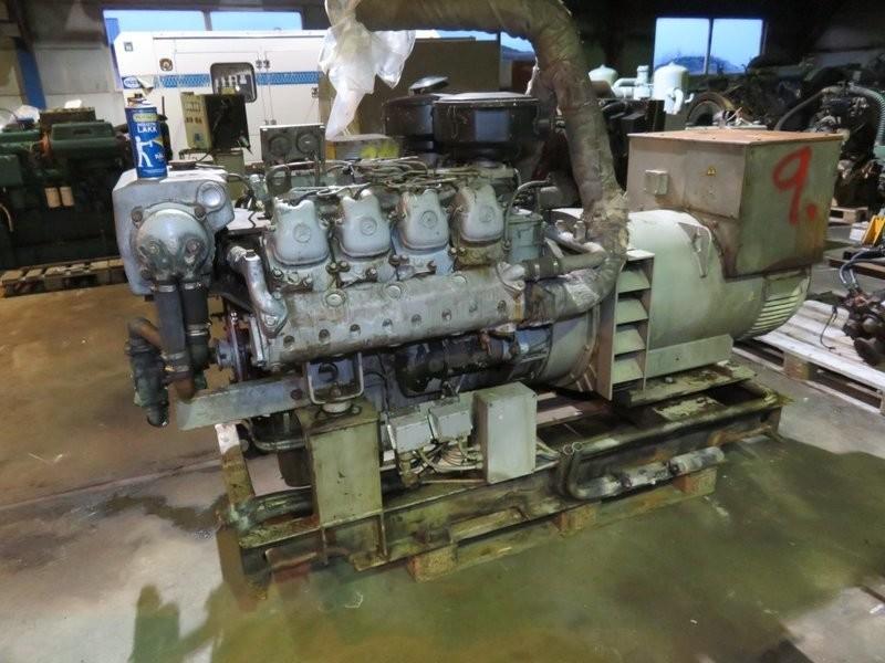 9. Motor og Generator sett - Mercedes  V-8 OM 402