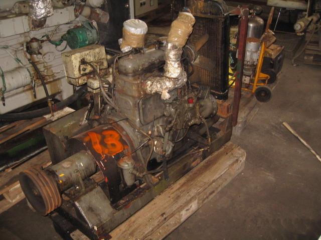 13. Motor og Generator sett - Daimler Benz OM636