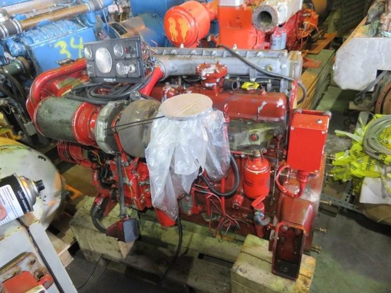 14. Motor og Generator sett - Iveco fra sidepropell