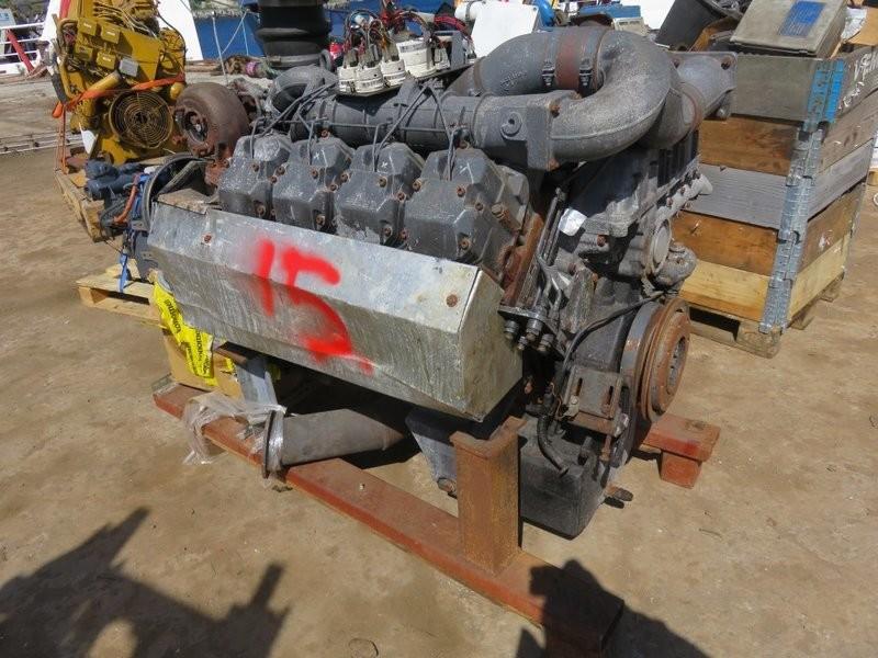 15. Motor og Generator sett - Deutz v-8 BF 8M