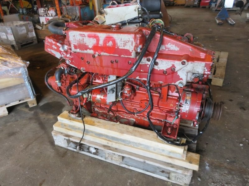 20.  Motor og Generator sett - Perkins m/gir