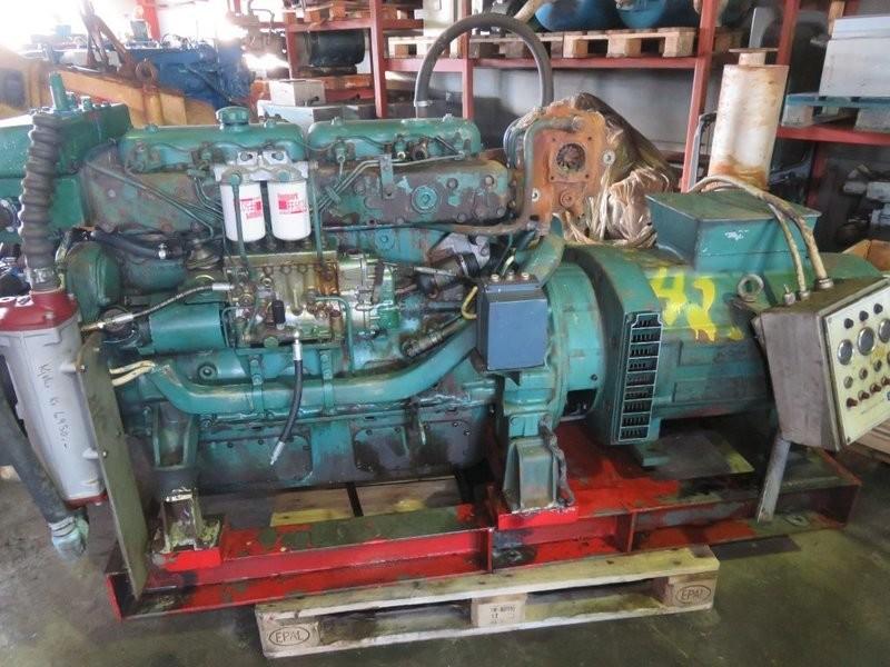 42. Motor og Generator sett - Volvo TMD 70B