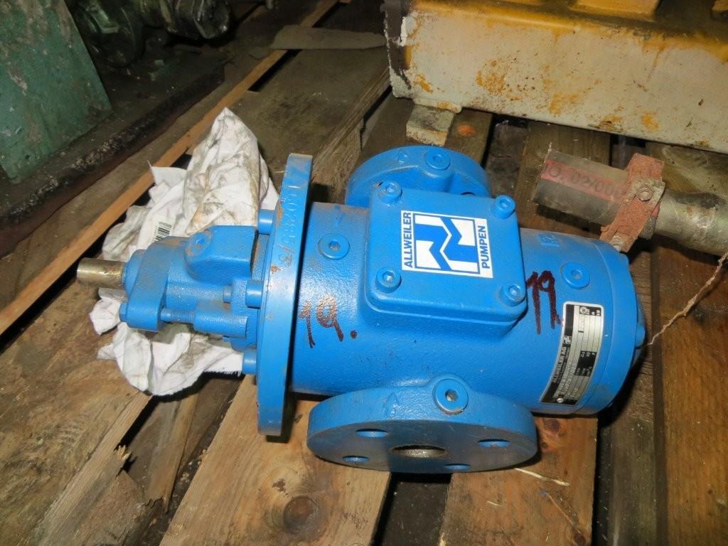 19. Pumpe, Brann-Lense-Spyle - Allweiler  SNF40ER 38U4-W2