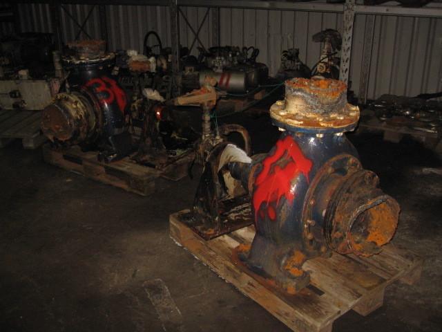 37. Pumpe, Brann-Lense-Spyle - Hydraulisk drift
