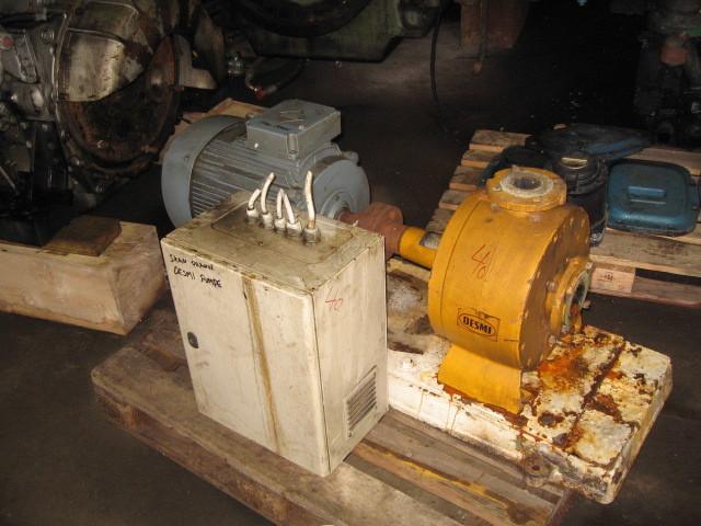 40. Pumpe, Brann-Lense-Spyle - Desmi  S70-50-275N/A09