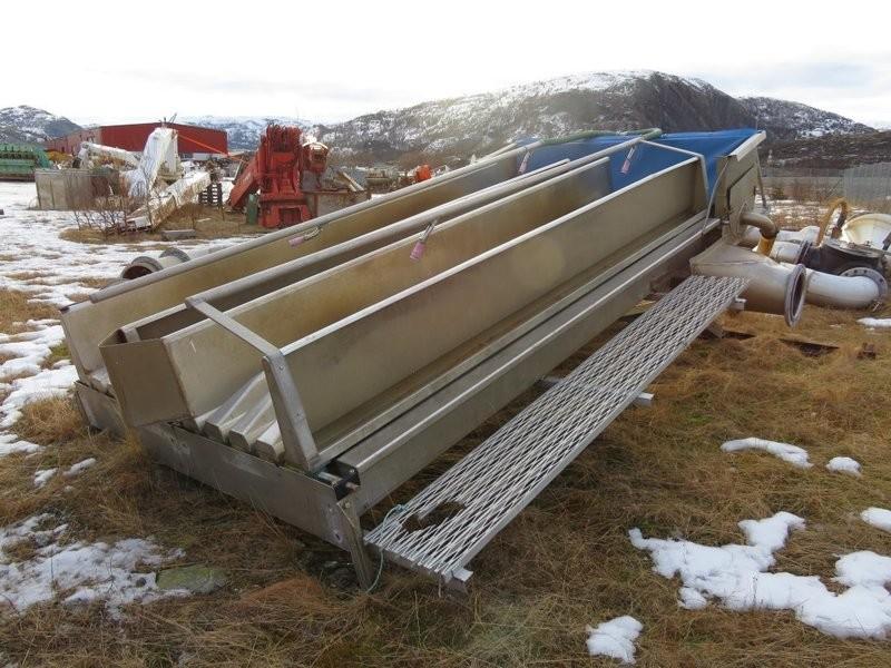 1. Sløye og sorterings maskiner - Sorterings anlegg fra brønnbåt
