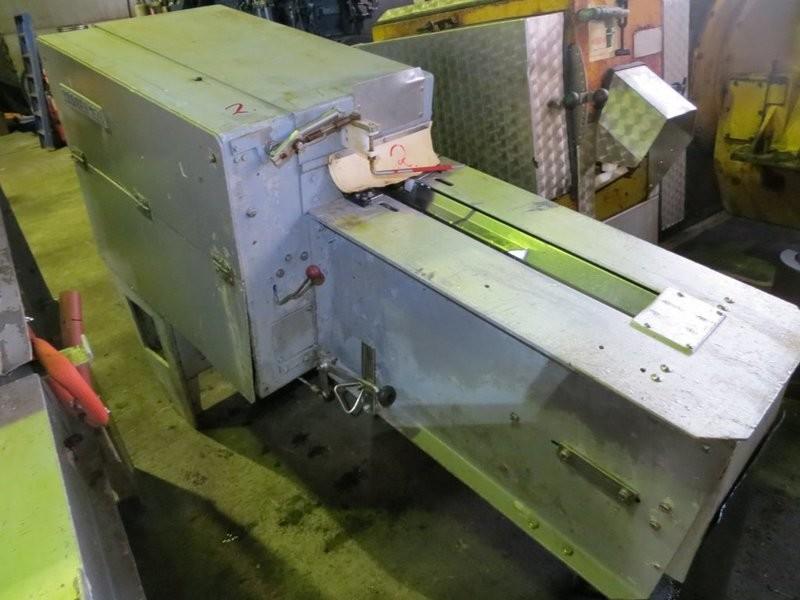 3. Sløye og sorterings maskiner - Baader 159,  -1990