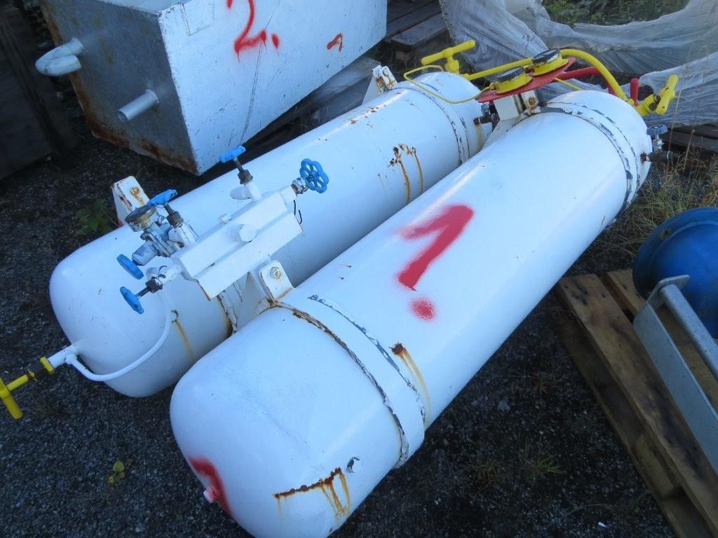 1. Tanker & startluft flasker