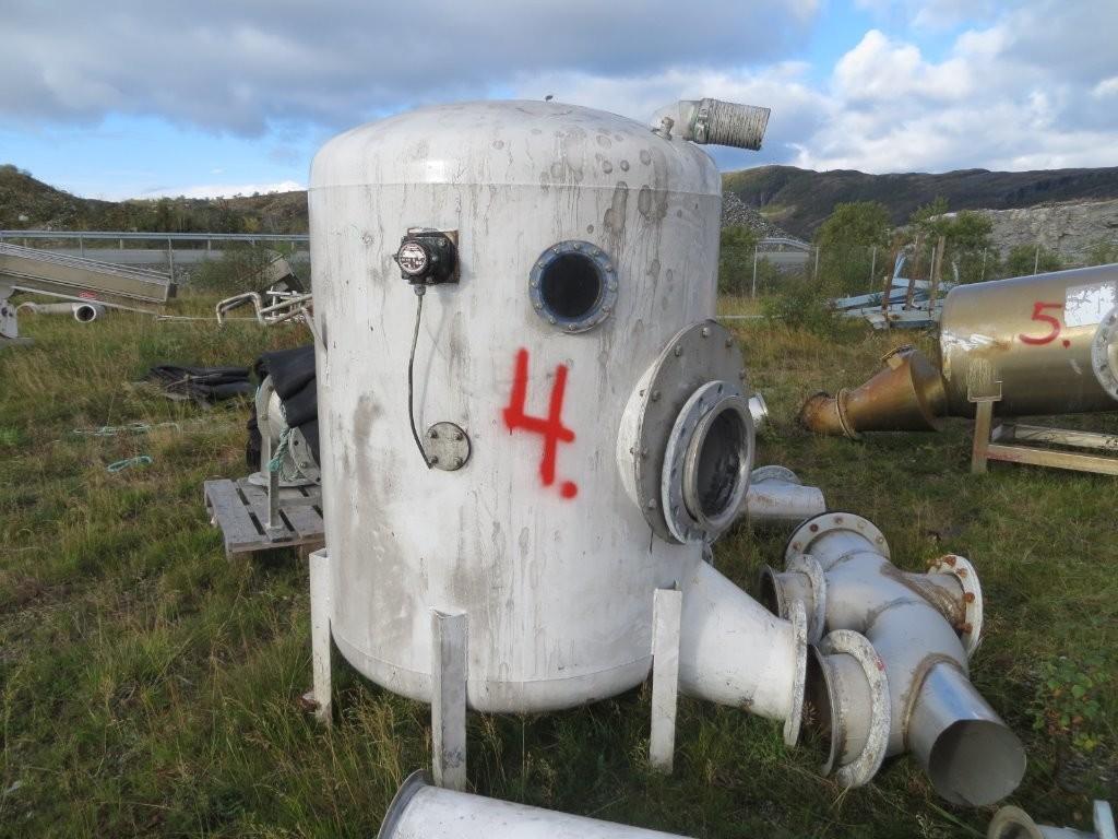 4. Vakumtanker og ventiler - 120x170, 2000liter