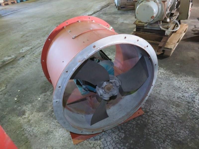 3. Vifter & Lufting - 11kw 400v dia 70cm