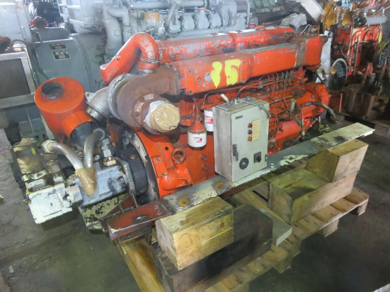 25. Motor og Generator sett - Scania DS11