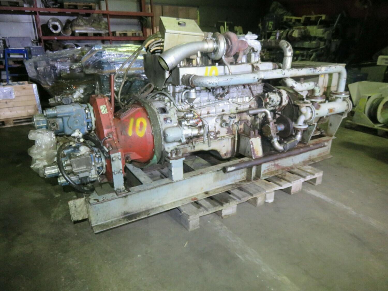 17. Motor og Generator sett - Mitsubishi 6D22TC