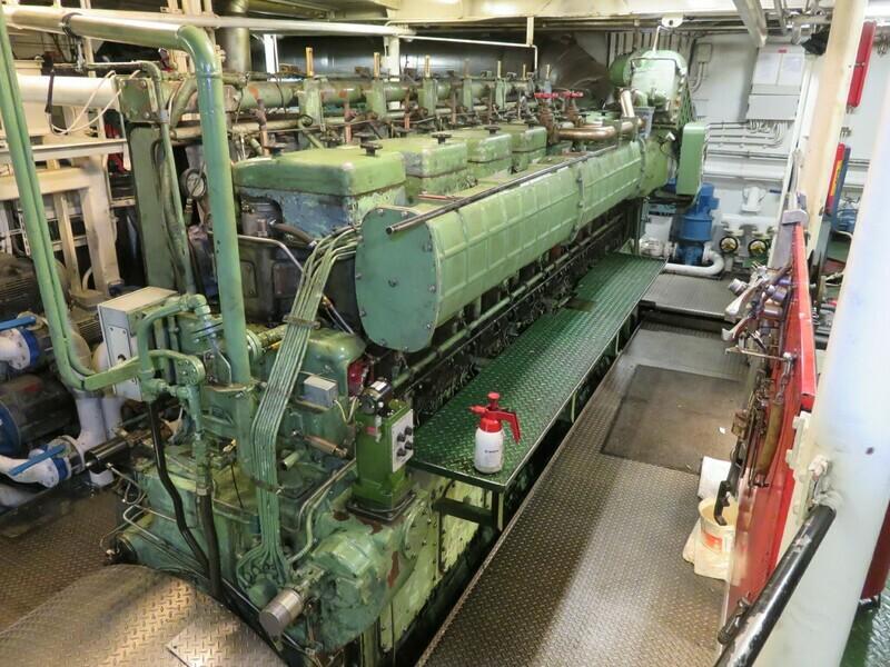 1. Hoved motorer - MWM   TBD 500