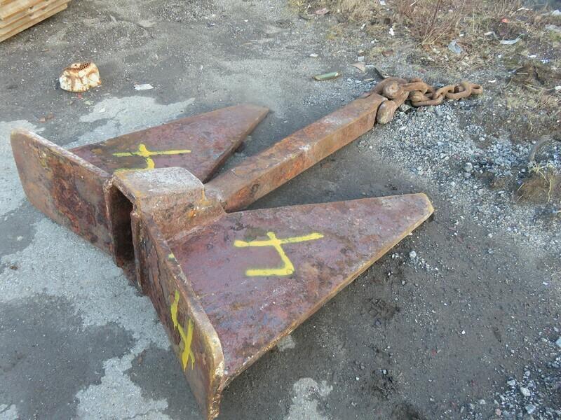 Anker & Kjetting    .4 - 760 kg