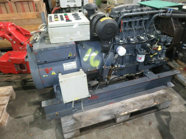 16. Motor og Generator sett    Deutz