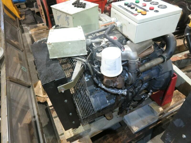18. Motor og Generator sett - Deutz
