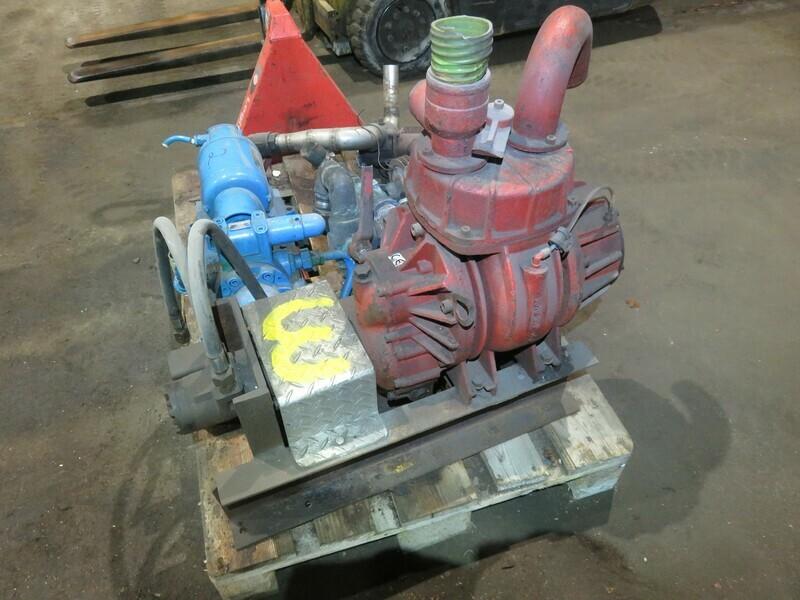 3. Hydraulsk drevet  Vakum pumpe  2,5