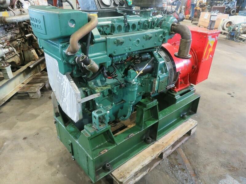 17. Motor og Generator sett - Volvo D-5