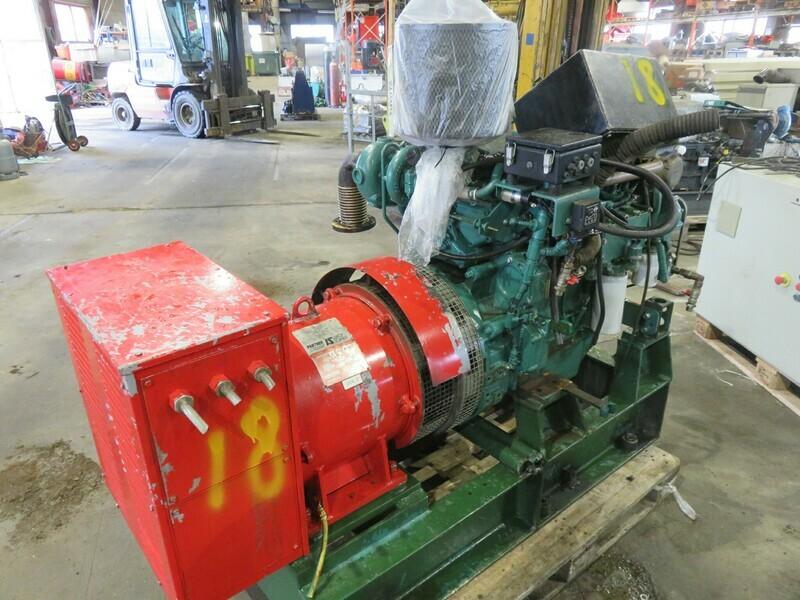 18. Motor og Generator sett - Volvo D-5 + Leroy sommer