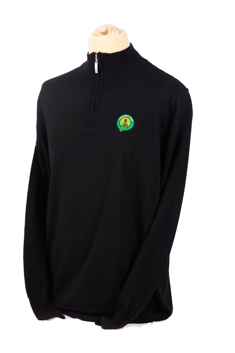 Dooks Golf Club 1/4 Zip Greg Norman Sweater