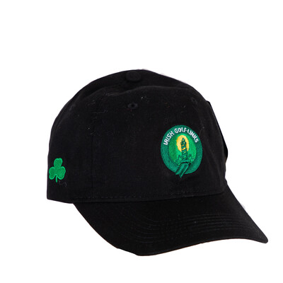 Irish Golf Links Cap (Black)