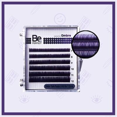 Ресницы цветные Be Perfect Ombre Mix 6 линий