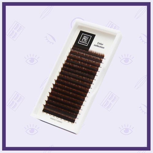 Ресницы коричневые Barbara Dark Chocolate Mix
