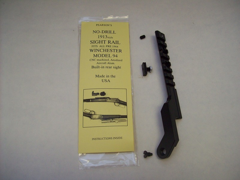 Pre-64 and Post-64 Winchester  Model 94 Rail Mount w/Adjustable Sight