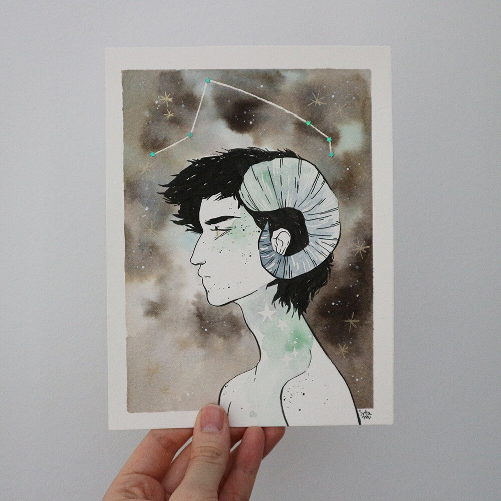 Aries (original artwork)