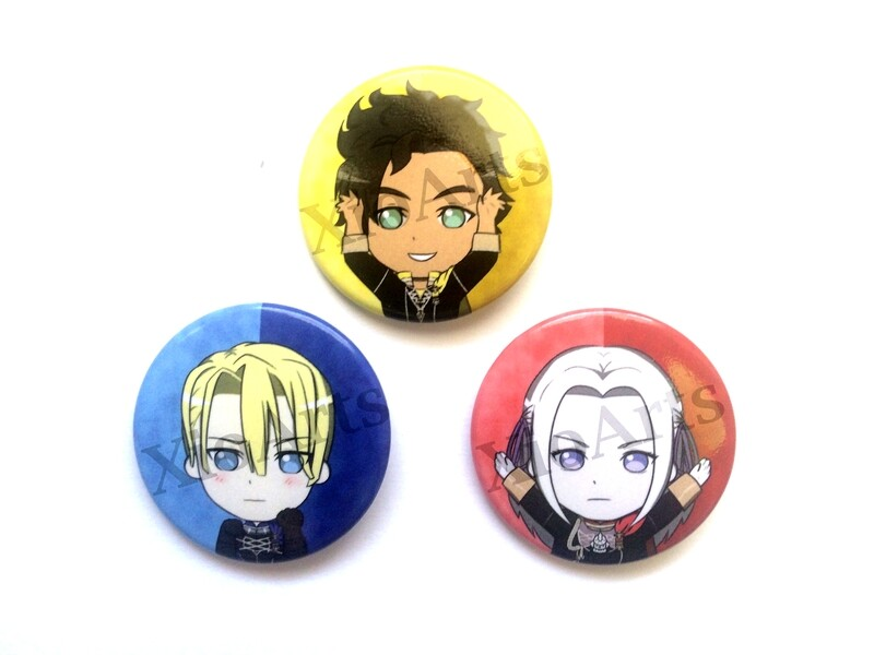 Fire Emblem Three Houses Buttons 2.75 in.