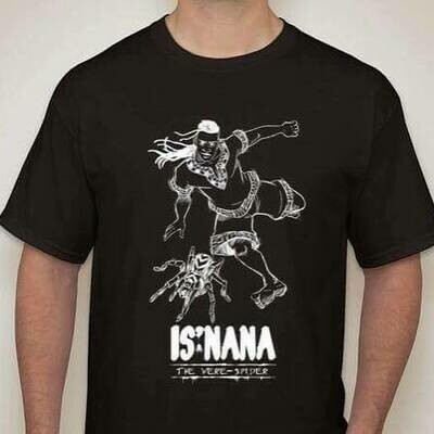 Is'nana the Were-Spider T-Shirt Designed by Daryl Toh