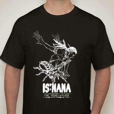 Is'nana the Were-Spider T-Shirt Designed by Daryl Toh 2