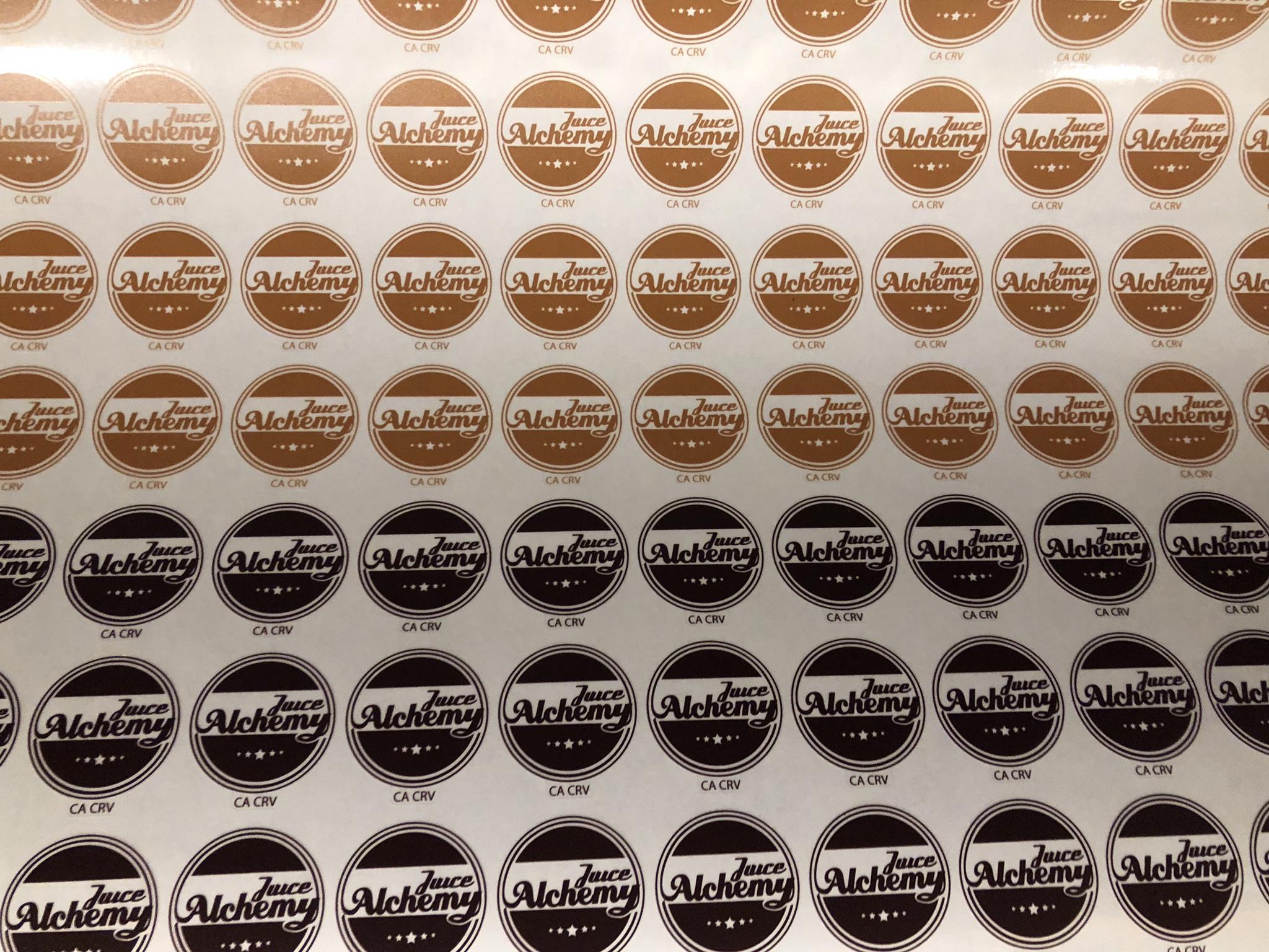 Circle Vinyl Stickers