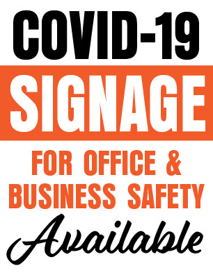 Covid Safety Sign