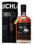 Bruichladdich 1986 Rare Cask Series 30 Year Single Scotch Whiskey (750 ml)