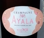 Ayala Rose No. 8 Brut 2008 (750 ml)