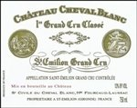 Chateau Cheval Blanc, Saint-Emilion Grand Cru 2010 (750 ml)